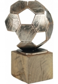 Trophäe Fussball (E-T-BEL371)
