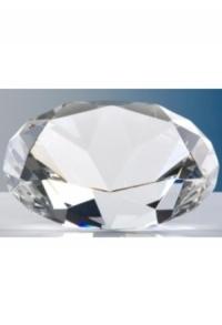 Kristallglas-Diamant, 8 cm