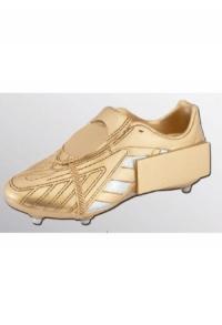 Trophäe Fussball-Schuh Gold