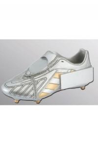 Trophäe Fussball-Schuh Silber