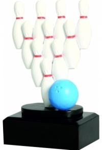 Trophäe Bowling / Kegeln (E-TR-RFST2037)