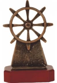 Trophäe Schiff Steuerrad E-T-BEL204-C