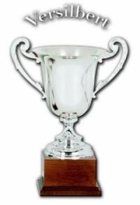 Pokal echt versilbert (G-L-M-6822)