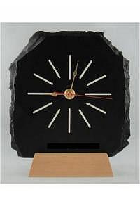 Schiefer-Trophäe mit Uhr ab CHF 110.00
